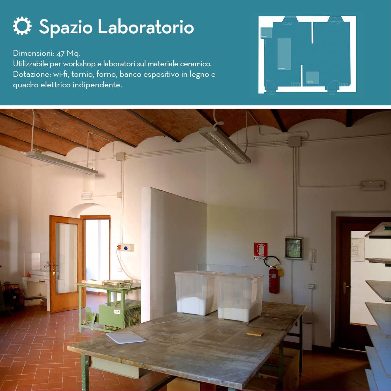 spazio laboratorio ceramica